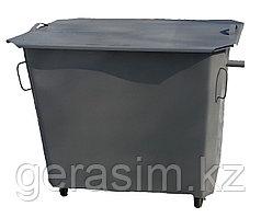 Металлические контейнеры со съемной крышкой на колесах (НДС 12% в т.ч.).