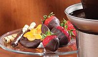 Фонтан шоколадный Chocolat Fondue 40 см. Большой 3 яруса., фото 8