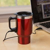 Кружка с подогревом Heated Travel Mug, фото 2