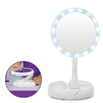 Зеркало с подсветкой и увеличением My Fold Away Mirror
