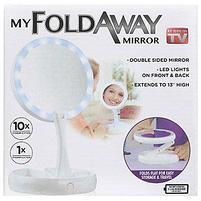 Зеркало с подсветкой и увеличением My Fold Away Mirror, фото 5