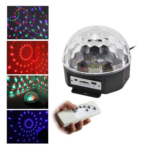 Диско-шар светодиодный Led Magic Ball со светомузыкой