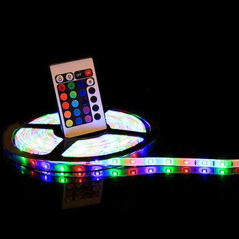 Лента светодиодная с пультом Led Strip