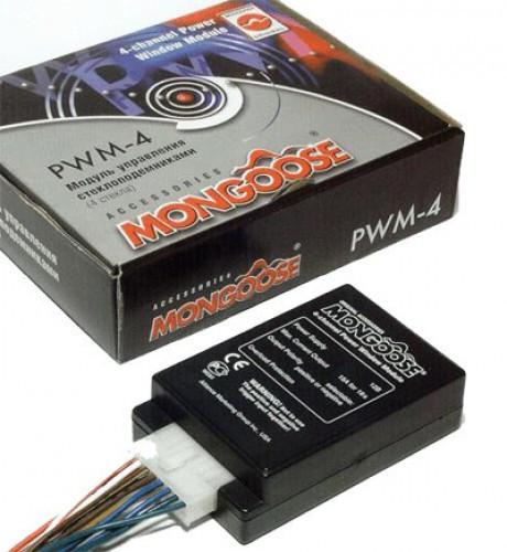 Модуль управления стеклоподъёмниками Mongoose PWM-4