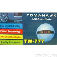 Парктроник на 4 датчика белый Tomahawk Z-703, фото 2