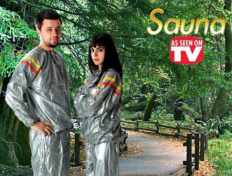 Костюм-сауна для похудения Unisex Sauna Suit, фото 2