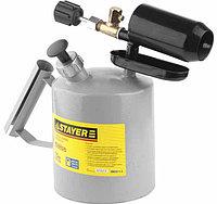 """Лампа STAYER """"PROFI"""" паяльная, стальная, 1,5 л"""
