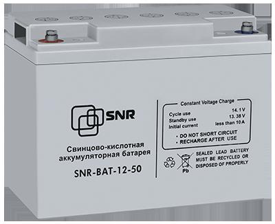 Свинцово-кислотный аккумулятор 12В 50Ач (SNR-BAT-12-50-GP)