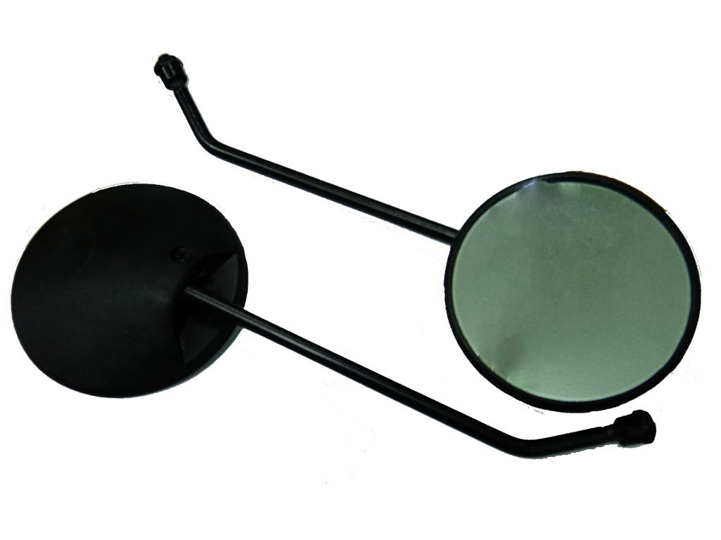 Зеркала(чёрный корпус.чёрная ножка)