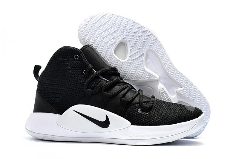 """Кроссовки Nike Hyperdunk X (2018) """"Black/White"""" (36-46)"""