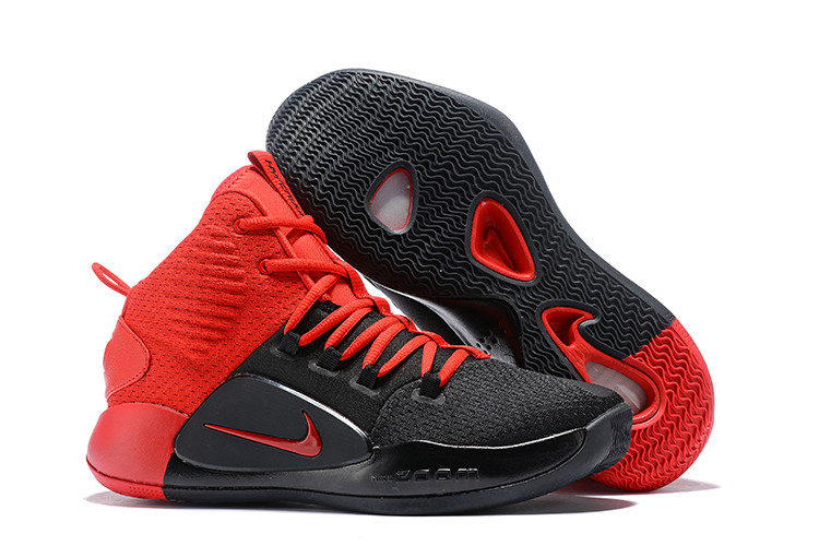 "Кроссовки Nike Hyperdunk X (2018) ""Red/Black"" (36-46)"