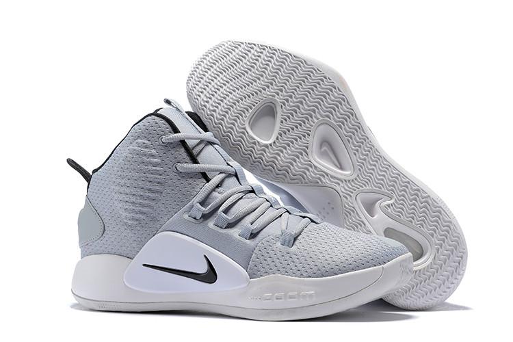 """Кроссовки Nike Hyperdunk X (2018) """"Grey/White"""" (36-46)"""