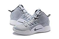 """Кроссовки Nike Hyperdunk X (2018) """"Grey/White"""" (36-46), фото 3"""