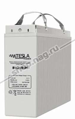 Фронт-терминальный герметичный необслуживаемый аккумулятор Tesla Power 12VDC 190Ач
