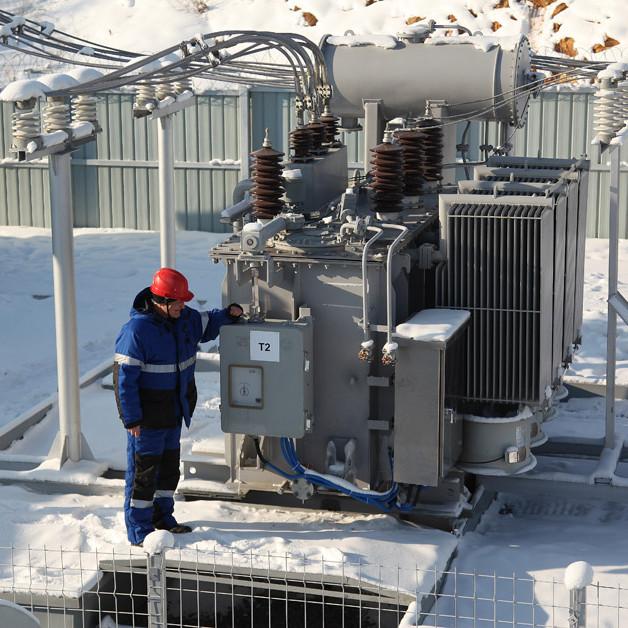 Техническое обслуживание электрической подстанции