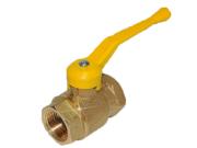 Кран газовый D 15 муфта/цапка