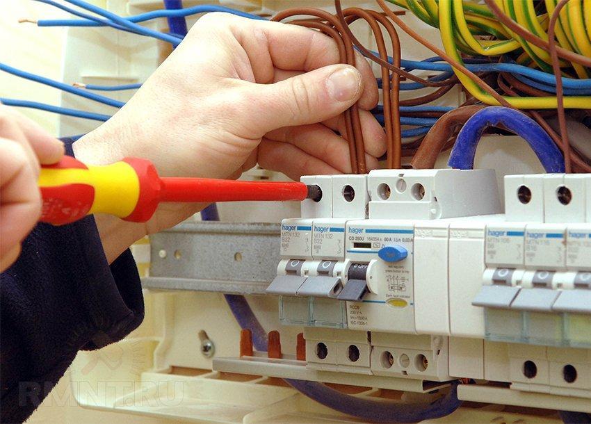 Ремонт систем электроснабжения