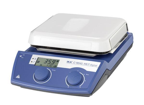 Магнитная мешалка с подогревом, ceramic plate C-MAG HS 7 digital