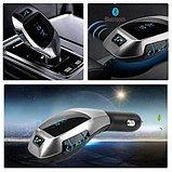 Автомобильный FM трансмиттер модулятор H20 Bluetooth MP3, фото 2