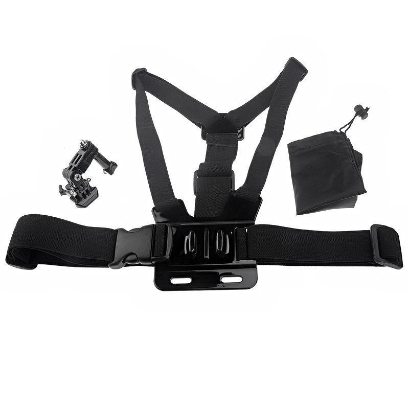 Крепление на грудь в комплекте с креплением и сумочкой для GoPro 5/4/3+/3/SJCAM/Xiaomi