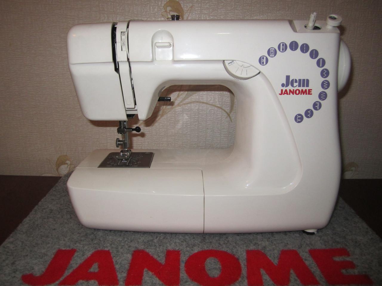 Швейная машинка Janome Jem UK