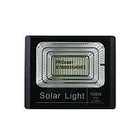 Мощный светодиодный прожектор с отдельной солнечной батареей и встроенными датчиками света 100 Вт, фото 5
