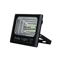 Мощный светодиодный прожектор с отдельной солнечной батареей и встроенными датчиками света 100 Вт, фото 6