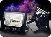 Мощный светодиодный прожектор с отдельной солнечной батареей и встроенными датчиками света 100 Вт, фото 7