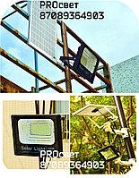 Мощный светодиодный прожектор с отдельной солнечной батареей и встроенными датчиками света 100 Вт, фото 8