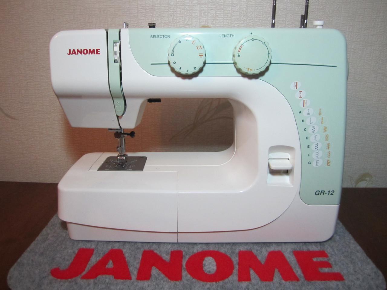 Швейная машина Janome GR-12