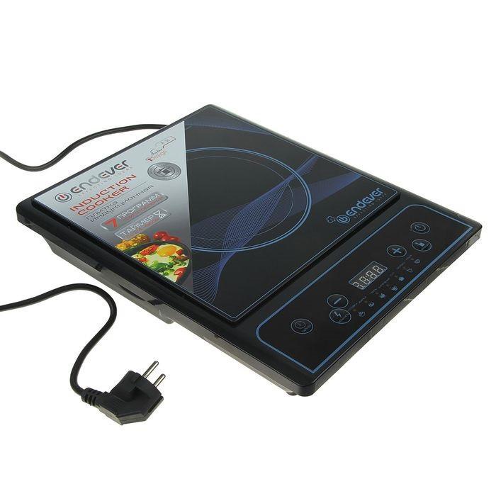 Плита индукционная электрическая Endever Skyline IP-26, 2000 Вт, 7 программ