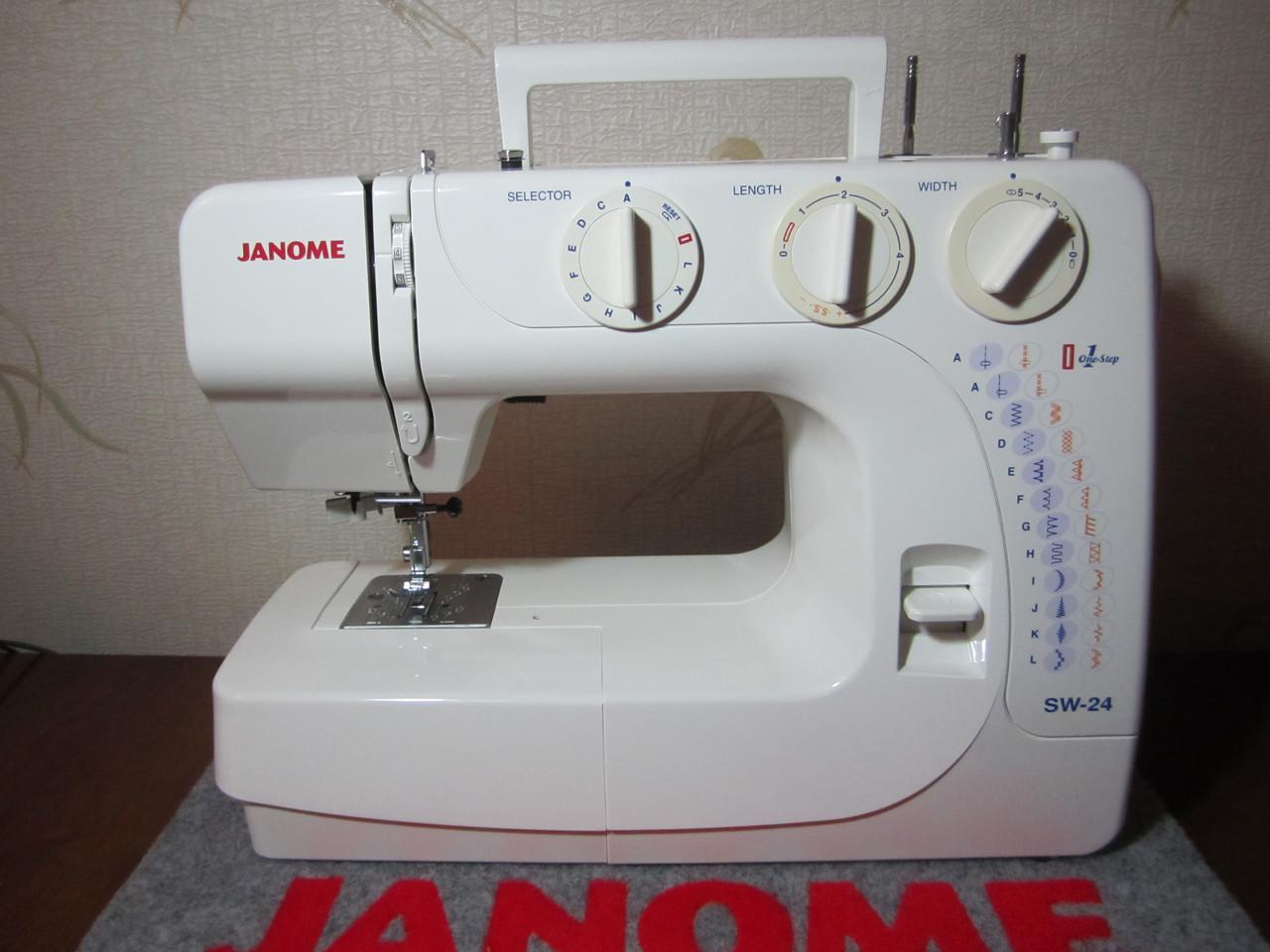 Швейная машинка Janome SW 24