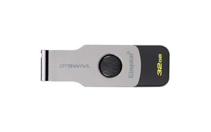 USB Флеш 32GB 3.0 Kingston DTSWIVL/32GB металл, фото 2