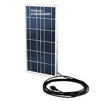 Светильник (40 Вт) с солнечной батареей датчиком света и пультом управления, фото 3