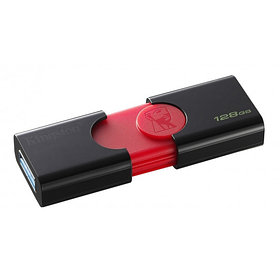 USB Флеш 128GB 3.0 Kingston DT106/128GB черный