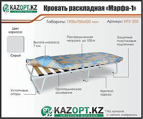 Раскладушка с мягким матрасом «Марфа-1», фото 2
