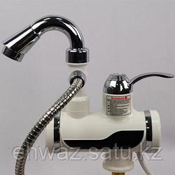 Кран водонагреватель с насадкой для душа
