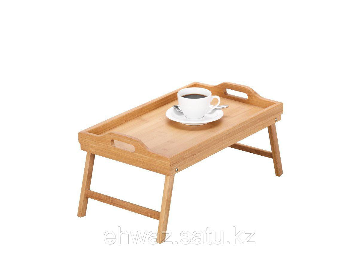 Бамбуковый столик для завтрака в постель