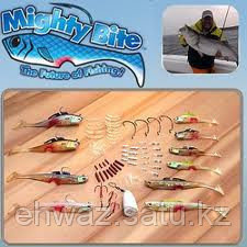 Снасти для рыбной ловли - МАЙТИ БАЙТ (MIGHTY BITE) набор из 100 предметов