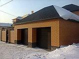Подъёмные ворота гаражные, утеплённые ворота автоматические, фото 3