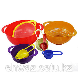 Комплект посуды для кухни Радуга