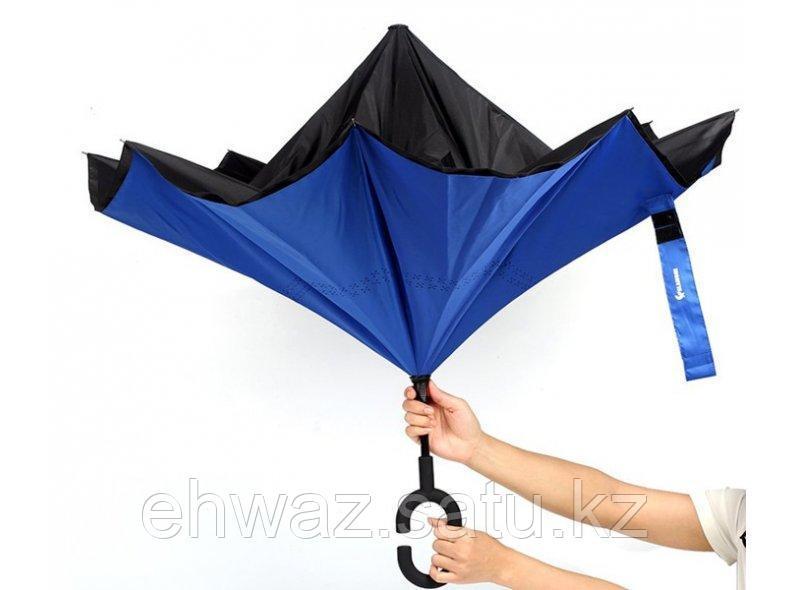 Двойной зонт с ручкой