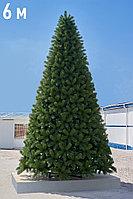 """Искусственный высотный новогодний кедр (елка) для помещений """"Максимум"""" - 6 метров"""