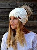 Зимняя шапка для девочки и женщины Джульетта