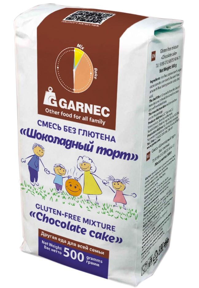 Смесь без глютена «Шоколадный торт»