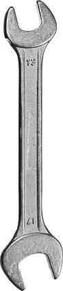 Рожковые гаечные ключи, СИБИН, фото 2