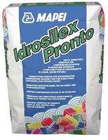 Mapei IDROSILEX PRONTO - серая жесткая гидроизоляционная мембрана 25 кг