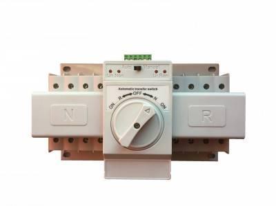 SQ3-63 4P Реверсивный рубильник с мотор приводом, 63А, 400/230V