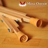 Костыли подмышечные деревянные с мягкими подмышечниками 01-КИ, фото 3