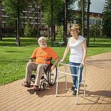 Кресло-коляска для инвалидов H 007 (17, 18, 19 дюймов), фото 9